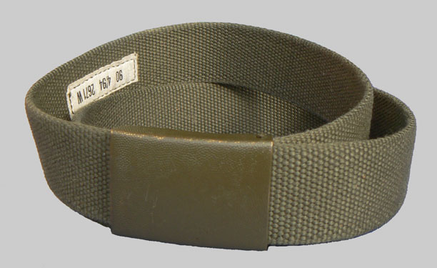 German Army (Bundeswehr) OD Web Trouser Belt