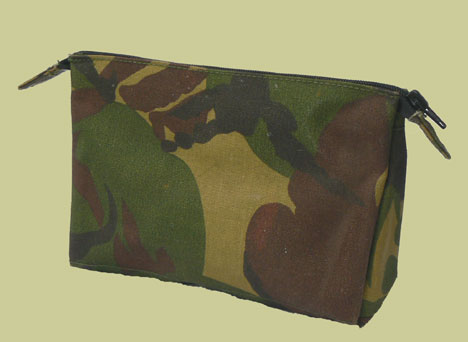 "Dutch Army ""DPM"" Camo Toiletries Bag"