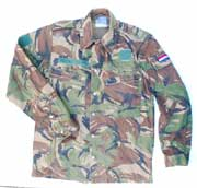 "Dutch Army ""DPM"" Camouflage Field Shirt - Used"