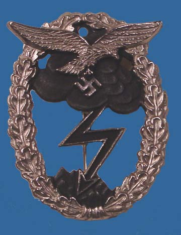 German WWII Luftwaffe Ground Assault Badge