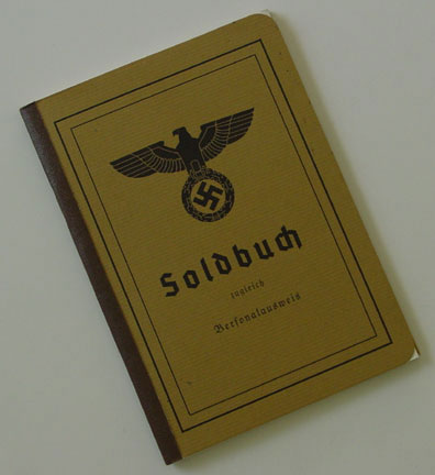 German WWII Army (Heer) Soldbuch - Reproduction