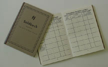 German WWII Waffen SS Soldbuch - Reproduction