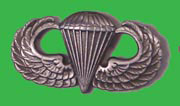 US GI Paratrooper/Parachute Qualification Badge
