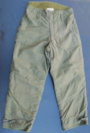 "US GI 1985 Dated Cold Weather Trousers 31"" to 34"" Waist"