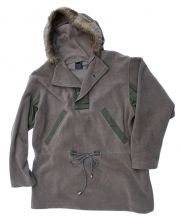 "US GI WWII Reproduction Type A-12 Arctic Parka Liner, Fleece 44"" Chest"