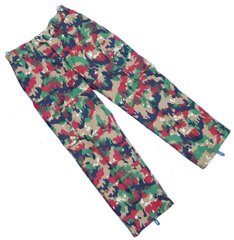 "Swiss Army Leibermuster ""Alpenflage"" Camo Field Pants"