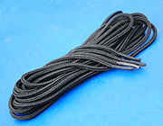 "US GI Black Boot Laces (pair) 72"" long"