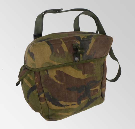British Armed Forces DPM Camo Gas Mask Bag