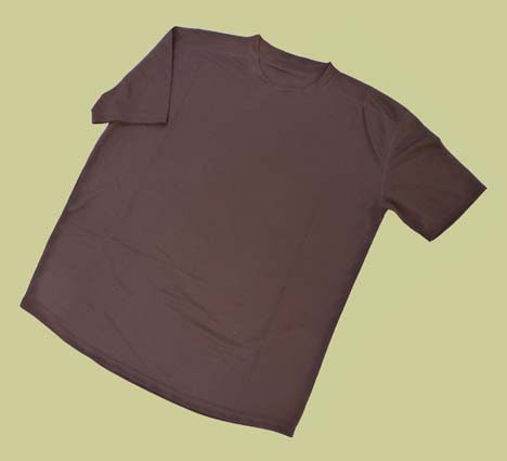 British Army Brown Hot Weather T-Shirt size XL