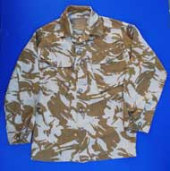 British Armed Forces Pattern S95 Tropical Desert DPM Camo Field Shirt/Jacket