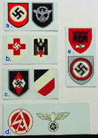 German WWII Specialty Helmet Decals