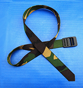 "Dutch Army ""DPM"" Camo 85 mm cargo strap"
