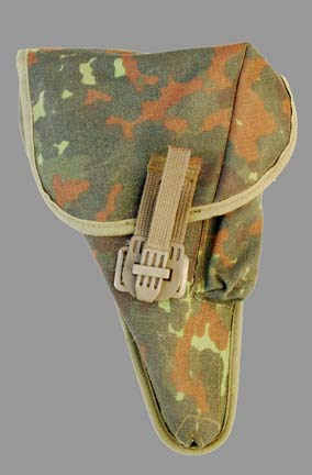 German Army (Bundeswehr) Walther P1/P38 Flectarn Camo Holster