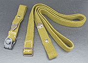 German WWII Replica Gas Mask Canister Straps