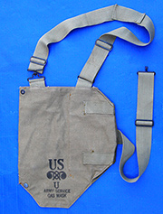 US GI WWII Canvas Gas Mask Bag
