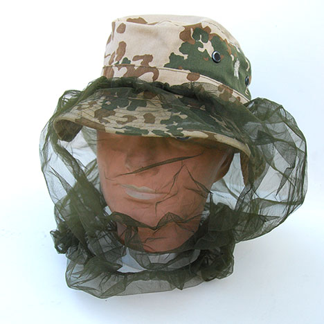 US GI Vietnam Boonie Insect Headnet