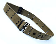 US GI WWII M1936 Canvas Pistol Belt