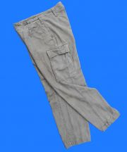 "German Bundeswehr (Army) OD Moleskin Pants 32"" Waist"