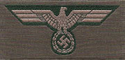 German WWII  Army (Heer) BeVo woven Breast Eagles