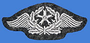 German WWII Air Force (Luftwaffe) Flight Technical Personnel Qualification Badge (Enlisted/NCO ranks)