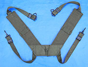 "US GI Army M1956 ""H"" Suspenders-Brand New Sz. R"