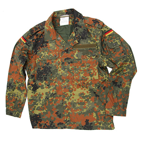 German Army (Bundeswehr) Flectarn Camo Field Shirt - Brand New Condition!