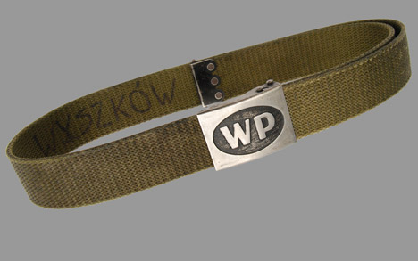 Polish Army Combat Belt w/ Buckle