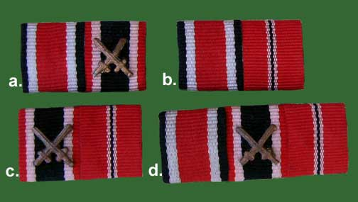 German WWII Reproduction 15 mm Ribbon Bars