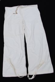 Swedish Army WWII-era Snow Camo Overwhite Trousers XL