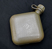 US GI Issue Plastic 2 Quart Canteen- Olive Drab