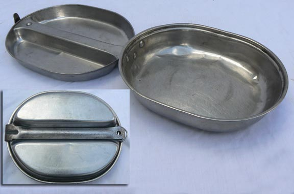 US GI Stainless Steel Mess Kit